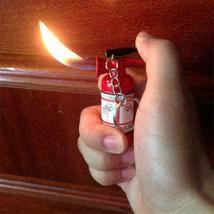 Mini Fire Extinguisher Butane Jet Lighter Cigar Cigarette Butane Lighter Torch  image 12