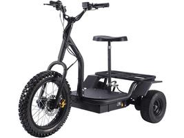 MotoTec Electric Trike 48v 1200w MT-TRK-1200 Scooter 3 Wheel Personal Transport image 1