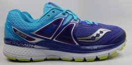 Saucony Triumph ISO 3 Running Shoes Women's Sz US 8 D WIDE EU 39 Purple S10347-1