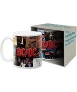 AC/DC Rock Group Albums Photo Images 11 oz Ceramic Coffee Mug NEW UNUSED - $6.89