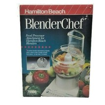 Hamilton Beach Blender Chef Food Processor ATTACHMENT Only 70900 NEW Sealed - $46.95