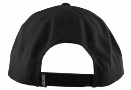 Dissizit Straight Crack Yupoong Wool Blend O/S Cap Black Red Embroidered Hat NWT image 5
