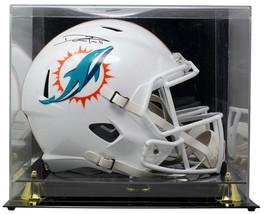 DeVante Parker Signed Dolphins Full Size Spd Replica Helmet w/Case JSA - $345.51