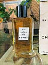 Vintage mid-century!! CHANEL No 5 Perfume 2 oz - OLD FORMULA FRANCE New NIP image 2