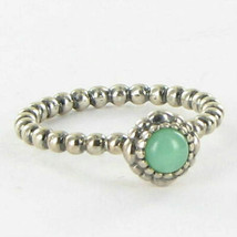 Pandora 190854CH May Chrysoprase Birthday Blooms Ring Sterling 925 Sz 7.... - $42.67
