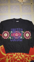 Vintage United Colors Of Benetton Big Embroidery Logo SpellOut Sweatshir... - $65.00