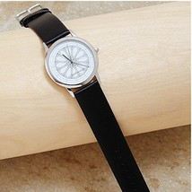Smithsonian Castle Watch Leather Band, New Battery SI Window Water Resist All St - $54.45