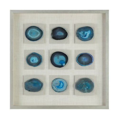 "Primary image for Uttermost Cerulean 31 1/2"" High Framed Shadow Box Wall Art"