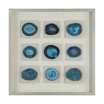 "Uttermost Cerulean 31 1/2"" High Framed Shadow Box Wall Art - €432,35 EUR"