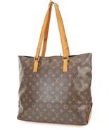 Authentic LOUIS VUITTON Cabas Mezzo Monogram Shoulder Tote Bag Purse #38019 - $419.00