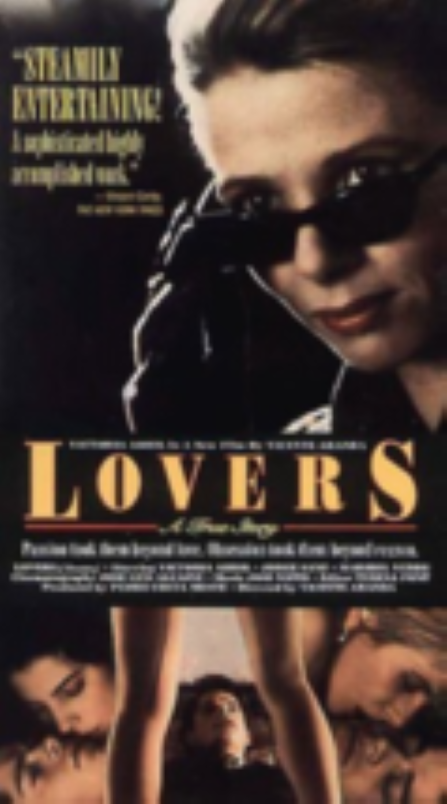 Lovers  - A True Story Vhs