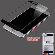 LG V5 K10 K20 Plus V Full Covered Tempered Glass Guard Screen Protector ... - $7.79