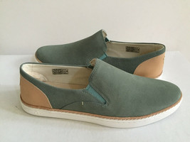 Ugg Adley Aloe Vera Slip On Leather Sneakers Us 7.5 / Eu 38.5 / Uk 6 Nib - $45.82
