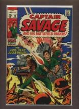Capt. Savage and His Leatherneck Raiders #13 VF 1969 Marvel Comic Book - $8.24