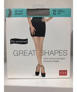 No Nonsense PANTYHOSE Great Shapes All-Over Shaper Sheer Toe Suntan size C - $6.72