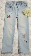 GAP KIDS Girl's Pants SZ 4 years Light Blue Denim Beautiful - $13.85