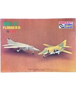 Minicraft Hasegawa 1:72 Mig-27 Flogger D Non-Assembled Non-Painted Model Kit VTG - $14.84