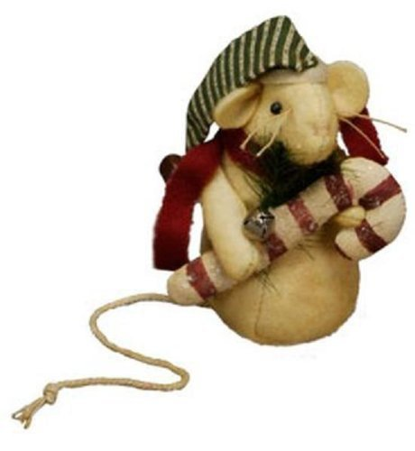 Candy Cane Christmas Mouse from Primitives by Kathy [Kitchen]