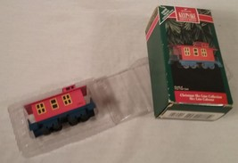 1992 Hallmark Keepsake Ornament Christmas Sky Line Collection Train Caboose - $25.73