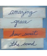 Amazing Grace handcrafted sign from reclaimed wood - $15.00