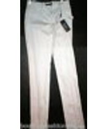 New NWT 4 Designer Womens Italy Dolce & Gabbana White Pants Trouser 40 T... - $1,395.00