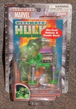 2002 Marvel Hulk Die Cast Vehicle & Comic Book New In Package   CVS Excl... - $19.99