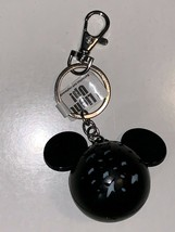 Disney Parks Exclusive Mickey Mouse Head Shape Light Up Keychain New - $19.58