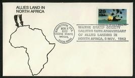 World War II 50th Anniv., Allies Land in N. Africa [3] **ANY 4=FREE SHIP... - $1.00