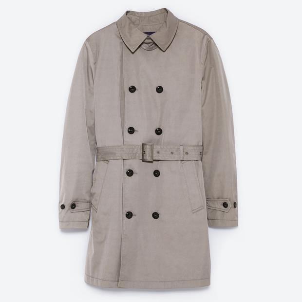 Damenmode Kleidung & Accessoires Zara Trenchcoat Gr.m Ecru