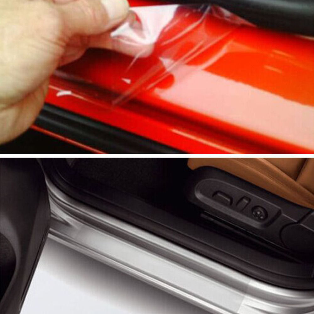 Car 8 X60 Universal Clear Door Sill Edge Paint Protection