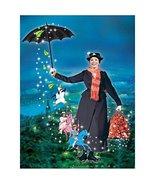 Mary Poppins Julie Andrews as Mary Poppins riding umbrella promo 8 x 10 ... - $7.95