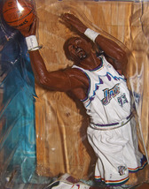 2004 Karl Malone Utah Jazz Uniform retro/Chase 6' Action Figure NBA Seri... - $49.95