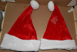 "Christmas Santa Hats 20"" Size 2 Each Michaels 91G - $6.49"