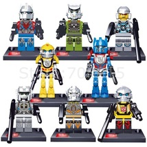 8Action Minifigures Building Blocks Transformation Bumblebee Optimus Toy... - $16.60