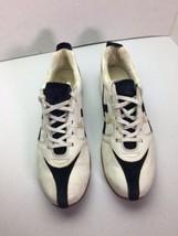 DIESEL Sailor White Leather Sneaker Walking Shoes Women Size 8.5 - $25.62