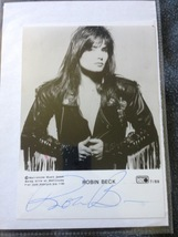 Robin Beck Hand-Signed Autograph 13cm x 18cm With Lifetime Guarantee  - $100.00