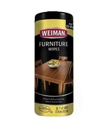 Weiman Wood Cleaner and Furniture Polish Wipes - 30 Wipes - $14.84