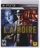 L.A. Noire - Playstation 3 [PlayStation 3] - $7.11