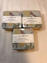 Scottish Fine Soaps Neroli Soap In A Tin, 3.5 Oz, 3 Tins - $14.85