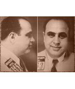 Al Capone WB Vintage 11X14 Sepia Mobster Memorabilia Photo - $9.95