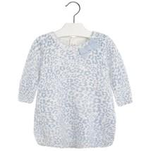 Mayoral Baby Girl 3M-24M Leopard Print Fuzzy Knit Sweater Dress