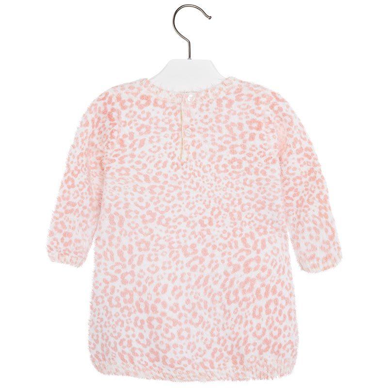 Bonnie Jean Girls Red Christmas Holiday Fuzzy Spangle Dress Set 6M 9M New
