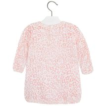 Mayoral Baby Girl 3M-24M Leopard Print Fuzzy Knit Sweater Dress image 2