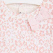 Mayoral Baby Girl 3M-24M Leopard Print Fuzzy Knit Sweater Dress image 3