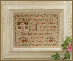 A Place We Call Home cross stitch chart Country Cottage Needleworks  - $7.20