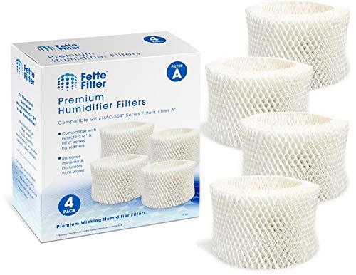 Fette Filter - Humidifier Wicking Filters Compatible with Honeywell HAC-504AW, F