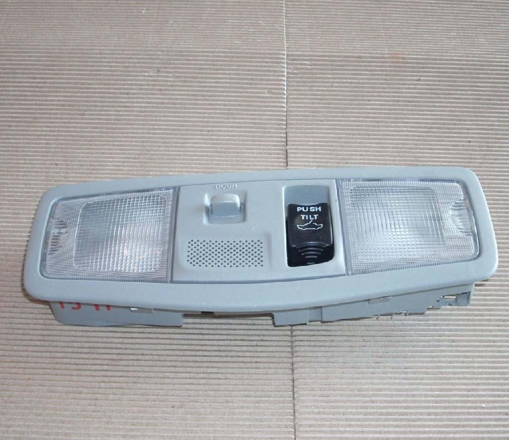 2009 MITSUBISHI LANCER GRAY DOME LAMP WITH SUN ROOF OPENER