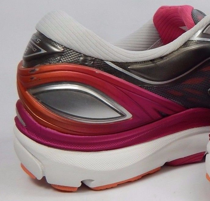 Brooks Transcend 3 Women's Running Shoes Sz US 11 M (B) EU 43 Silver 1202091B149