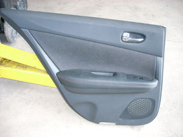 2014 NISSAN MAXIMA BLACK REAR LEFT DOOR PANEL [TRIM G]