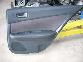 2014 NISSAN MAXIMA BLACK REAR RIGHT DOOR PANEL [TRIM G]